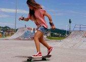 En skate, ça roule comme sur des roulettes !