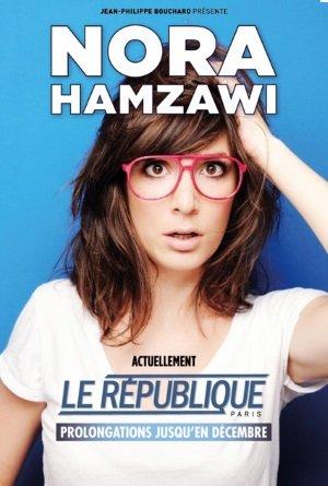 Spectacle de Nora Hamzawi
