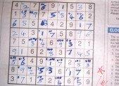 Week-end Sudoku avec mon homme