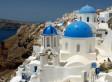 Paysage typique de Grèce